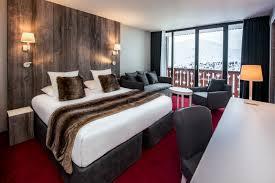 les chambre les chambres supérieures du pic blanc un hôtel 4 étoiles en isère