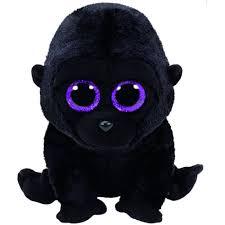 ty beanie boo george black gorilla toyworld