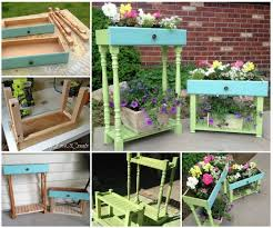 diy upcycled drawer into garden planters pictures photos and