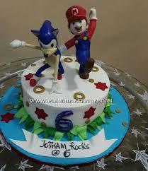 mario cake sonic and mario cake splendid cake store