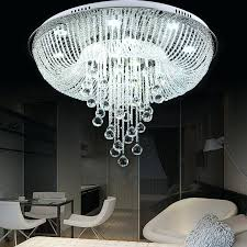 Glass Ceiling Lights Pendant Chandeliers And Ceiling Lights Clear Glass Draping Flush