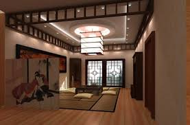 Japanese Minimalist Living Interior Design Modern Minimalist Japanese Style Traditional