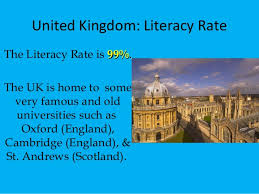 unit 1 literacy rate and culture