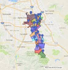 san jose unified map san jose unified school district boundaries