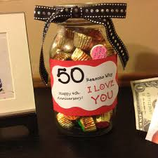 creative anniversary gifts diy anniversary gift idea 50 reasons why i you each