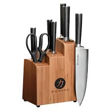 japanese steel kitchen knives review ginsu gourmet chikara series forged 8 piece japanese steel