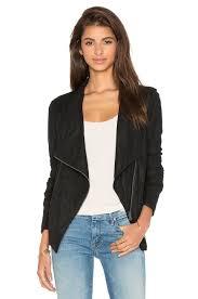 leather moto jacket bb dakota kyle leather moto jacket in black revolve
