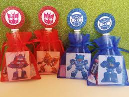 transformer party favors 12 angry birds transformers birthday party favors goody bags