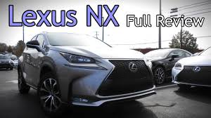 lexus nx hybrid us news 2017 lexus nx full review nx 200t f sport u0026 300h hybrid youtube