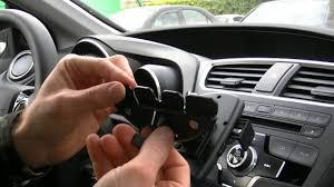 porta iphone da auto presentazione supporto regolabile auto da lettore cd universale