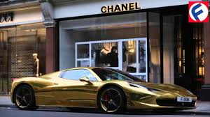 diamond car cars made of gold and diamonds youtube