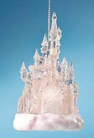 disneyland castle light up ornament from our collection