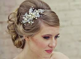 Vintage Wedding Hairstyles Wedding Hairstyles Ideas Side Ponytail Curly Low Updo Vintage