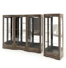 Wood Display Cabinets With Glass Doors Wood And Glass Display Cabinets 3d Model Cgtrader Invigorate