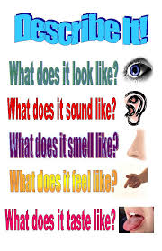describe it describe it poster teacherlingo com