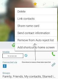how to block emails on android how to unblock a contact on android