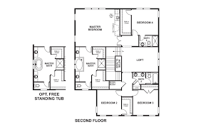 Richmond American Floor Plans Willowsford Virginia Martin