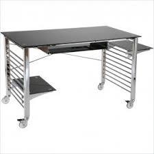 Metal Computer Desks Computer Desks With Wheels Foter