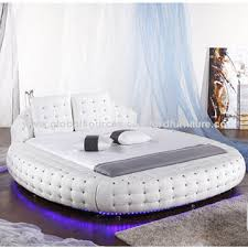 round bed frame round bed price belgium modern products and tufted crystal global