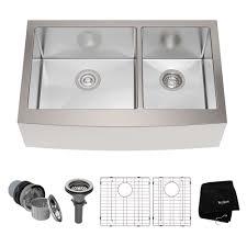 Black Apron Front Kitchen Sink by Apron Farmhouse Kitchen Sinks Stainless Steel Kitchen Sinks