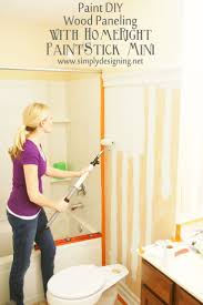 painting bathroom paneling ecormin com