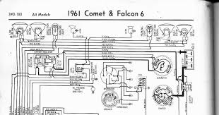 free auto wiring diagram 1961 ford falcon u0026 comet wiring diagram