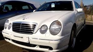 mercedes auctions 2002 mercedes e55 amg 12k lhd car auctions auto