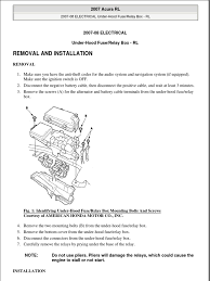 under hood fuse box electrical connector fuse electrical