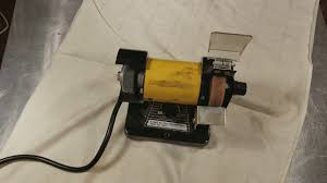 Mini Bench Grinder Harbor Freight 3