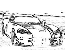 racing car dodge viper srt10 acr x coloring pages coloring sky