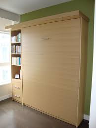 murphy bed dc and light brown maple wood wall with storage beds