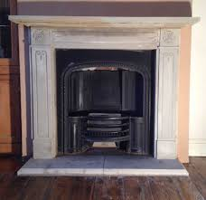 stone fire surround u0026 fire back installation open fire in clitheroe