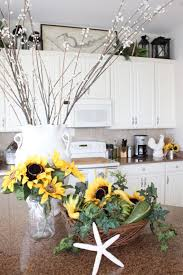 sunflower kitchen over the sink shelf w basket and towel rack