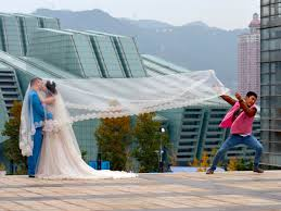 bridesmaids in china now so in danger that couples hire