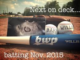 our baseball baby announcement our first little one pinterest