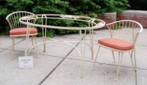 Wrought Iron Patio Table Set by Search All Lots Skinner Auctioneers