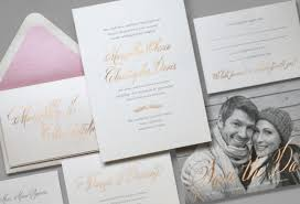 foil wedding invitations foil sting in wedding stationery cards
