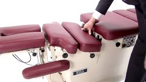 portable chiropractic drop table hill ha90c chiropractic table with drops and elevation youtube