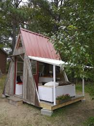 a frame cabin plans free relaxshacks com tiny house eye a small cabin by a rocky river