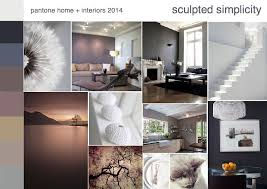 home interiors 2014 pantone sculpted simplicity color trend interior design mood board