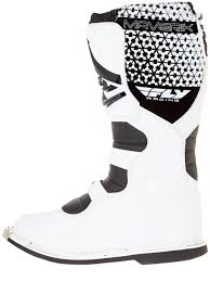 fly maverik motocross boots fly racing white 2016 maverick mx boot fly racing