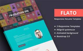 Bootstrap Resume Template Minifolio U2013 Bootstrap Resume Personal Portfolio Template Designstub