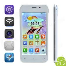 white 2 rom android s1000c android 4 2 2 mt6572 4 5 dual phone w 512mb ram 4gb