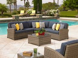 Outdoor Patio Furniture Sectional Cape Bainbridge Wicker Furniture Bainbridge Sectional By