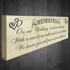 wedding memorial sign a soul is missing freestanding wedding day memorial plaque heaven