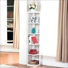 Corner Bookcase Units Small Corner Bookshelves Modern Orange Corner Shelf By Small Oak