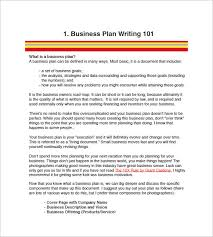 business plan templates free photography business plan template 7