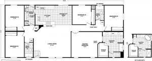 5 bedroom double wide floor plans doublewide homes