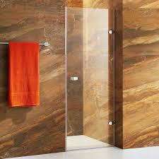 24 Frameless Shower Door Vigo Vg6073 Tempo 24 Frameless Shower Door Homeclick
