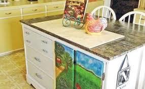 Repurposed Dresser Kitchen Island - furniture kitchen islands in repurposing to hometalk